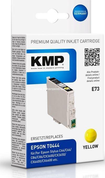 kmp e73 ersetzt druckerpatrone epson t0444 yellow 450 seiten. Black Bedroom Furniture Sets. Home Design Ideas