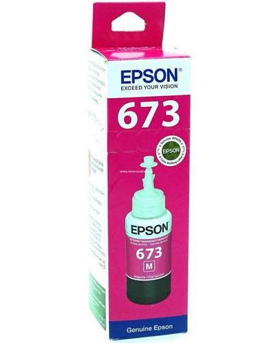 Epson L 800 - Druckerpatrone T6733 - 70 ml Magenta