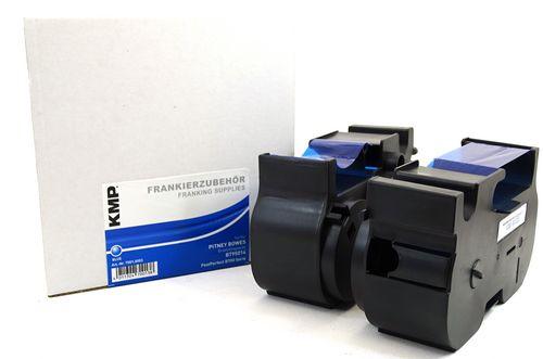 Frankierkassette für Pitney Bowes EasyMail B700-800 - Farbe Blau Kapazität 2200 Ausdrucke