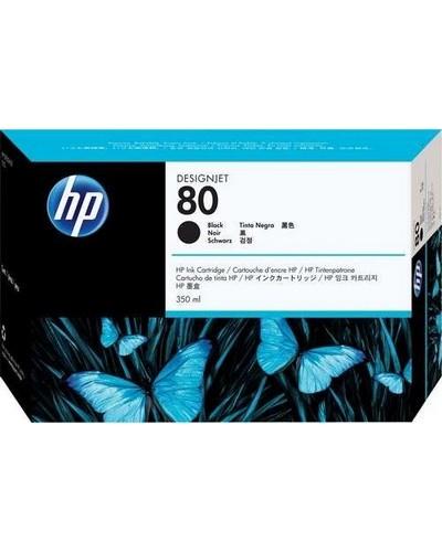 HP DesignJet 1050 - No. 80 C4871A Druckerpatrone - 350ml Schwarz