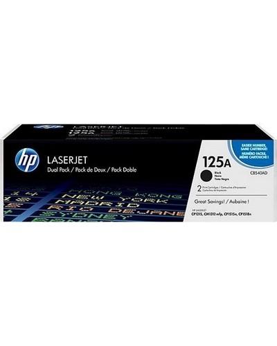 HP Laserjet CP1210 - Toner CB540AD 125A - Doppelpack  je 2.200 Seiten Schwarz