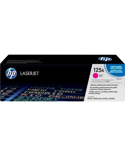 HP Laserjet CP1515 - Toner CB543A 125A - 1.400 Seiten Magenta