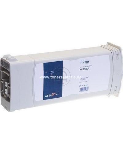ASTAR Tintenpatrone (ersetzt No. 91  C9467A) 775ml Cyan