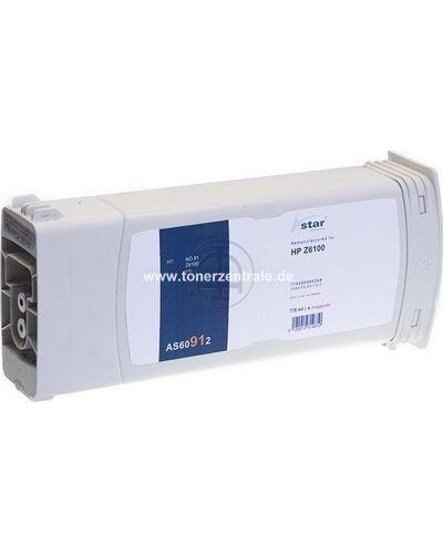 ASTAR Tintenpatrone (ersetzt No. 91  C9468A) 775ml Magenta