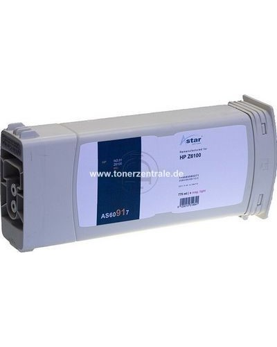 ASTAR Tintenpatrone (ersetzt No. 91  C9471A) 775ml Light Magenta