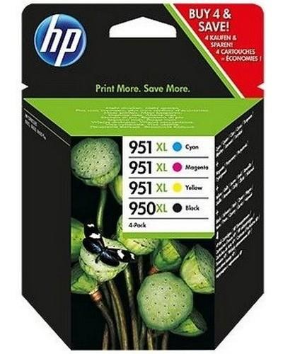 HP OfficeJet Pro 8100 - C2P43AE 950XL 951XL Multipack - Schwarz 2.300 Seiten Cyan, Magenta, Yellow je 1.500 Seiten