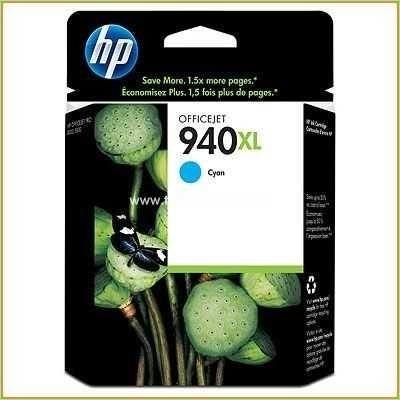 No. 940XL - C4907A - HP Tintenpatrone (1.400 Seiten) Cyan