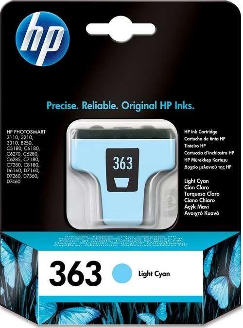 No. 363 - C8774EE - HP Tintenpatrone (5ml) Hell Cyan