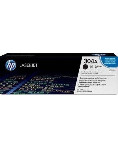 HP Color Laserjet CP 2025 - Toner CC530A 304 - 3.500 Seiten Schwarz