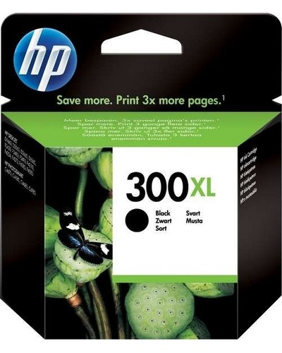 No. 300XL - CC641EE - HP HighCap. Tintenpatrone (12ml) Schwarz