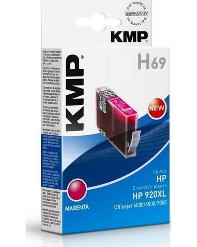 KMP H69 - Refill Tintenpatrone mit Chip (ersetzt HP No.920XL) 700 Seiten Magenta