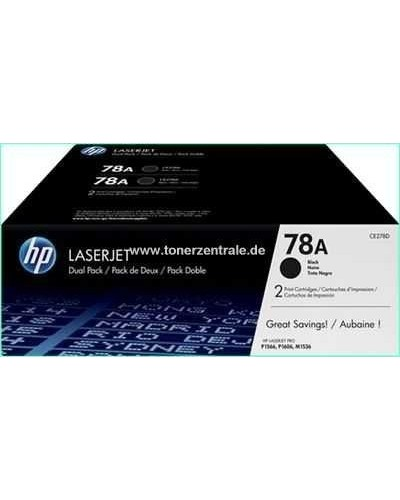 HP LASERJET P1600 - Toner CE278AD 78A Doppelpack - je 2.100 Seiten