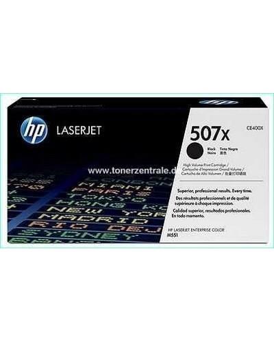 HP CE400X - Toner 507X - 11.000 Seiten Schwarz