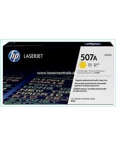 HP CE402A - Toner 507A - 6.000 Seiten Yellow