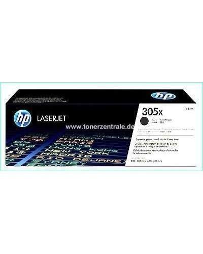 HP LaserJet Pro 300 - Toner CE410X 305X - 4.000 Seiten Schwarz