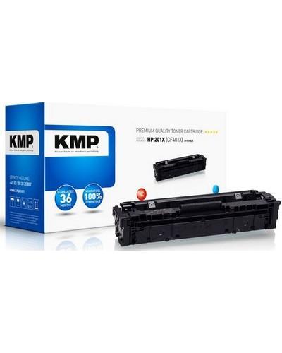 Rebuilt ersetzt HP Toner CF401X No. 201X Cyan 2.300 Seiten