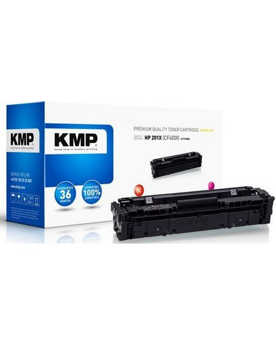 Rebuilt ersetzt HP Toner CF403X No. 201X Magenta 2.300 Seiten