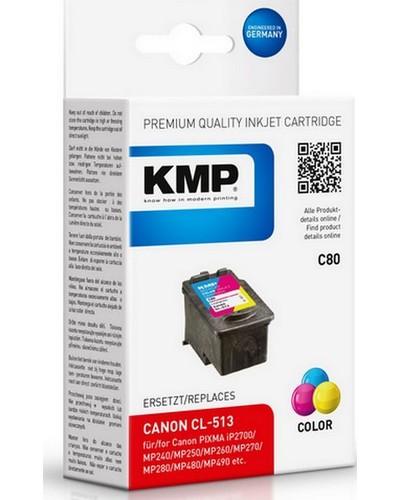 KMP C80 (ersetzt Canon CL513) Tintenpatrone 13ml - Color