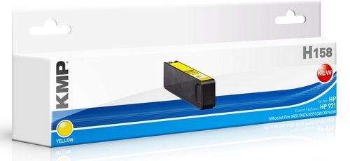 KMP H158 - ersetzt Druckerpatrone HP CN624AE 971 - 2.500 Seiten Yellow
