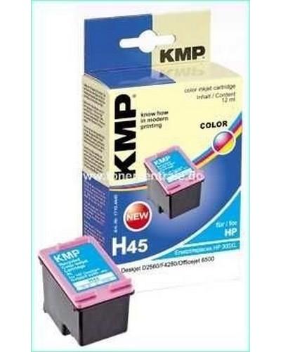 KMP H45 Refill Tintendruckkopf (ersetzt HP No.300XL-CC644E) 11ml Color