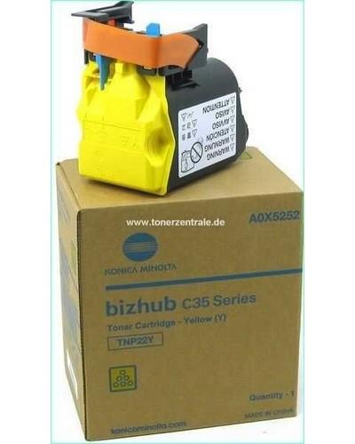 Konica Bizhub C35 - Toner TNP22Y A0X5252 - 6.00 Seiten Yellow