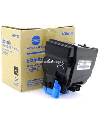 Konica Bizhub C3351 - Toner TNP49K Schwarz 13.000 Seiten