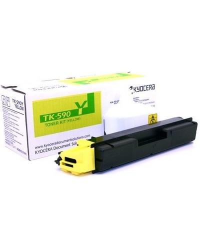 KYOCERA FSC2026, 2126, 5250 - TK590Y Toner - 5.000 Seiten Yellow