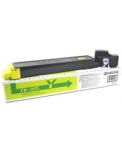 Kyocera FSC8025 - Toner TK895Y - 6.000 Seiten Yellow