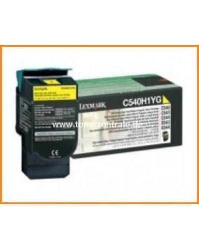 Lexmark C-X 540-548 - Toner 0C540H1YG Gelb 2.000 Seiten
