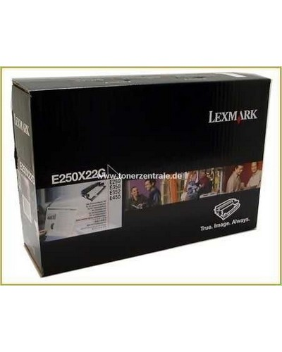 250X22G - Lexmark Photoleiter 30.000 Seiten für Lexmark Optra E-250, 35x-Serie, 450