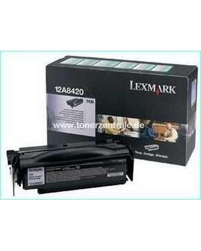 12A8420 - Tonerkassette prebate 6.000 Seiten für Lexmark Optra T-430