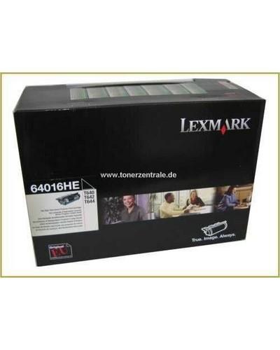 Lexmark T640 642 644 - Toner 64016HE Schwarz 21.000 Seiten