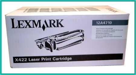 12A4710 - Lexmark Prebate Toner (6.000 S.) - X-422