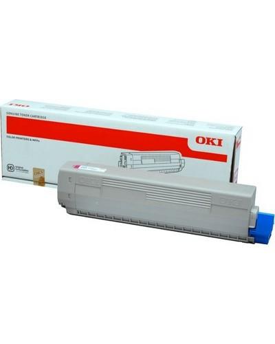 OKI C822 - Toner 44844614 - 7.300 Seiten Magenta