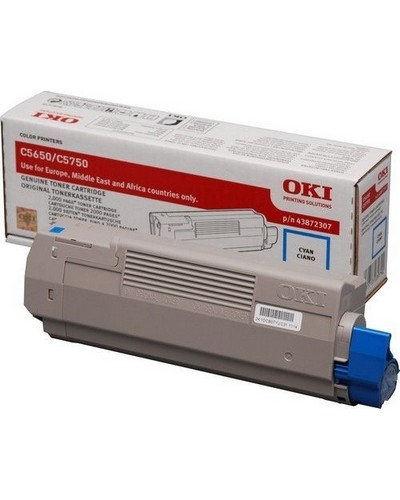 Oki C5650-5750 - Toner Cyan 43872307 2.000 Seiten