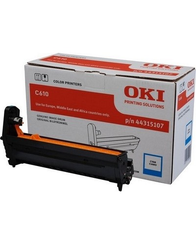 OKI C610 Fototrommel 44315107 Cyan 20.000 Seiten