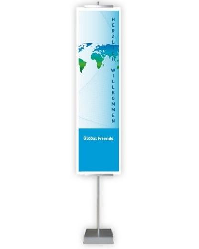 09624140 OKI Bannerhalter für Bannerpapier bis 1,20m Länge, A4-Breite