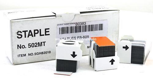 B0383 Olivetti D-Copia 25 u.a. - 3 x 5.000 Hefklammern B0383