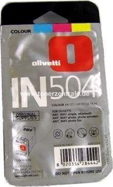 (B0496) IN504 - Olivetti Tinte Color - AnyWay Serie font color=orangeACHTUNG! Artikel eingestellt. Mögliche Alternativen bitte anfragen!/font