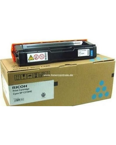 Ricoh Aficio SP-C311 - Toner 406349 RHC310EC - 2.500 Seiten Cyan