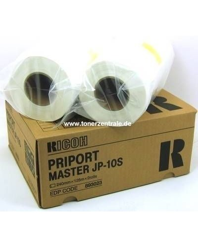 Ricoh Priport Master JP-1010 Type JP10S 893023 A4 VE=2