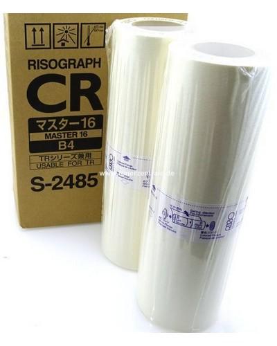 Risograph CR1630, TR1530 - S2485 Master - B4 2 Rollen