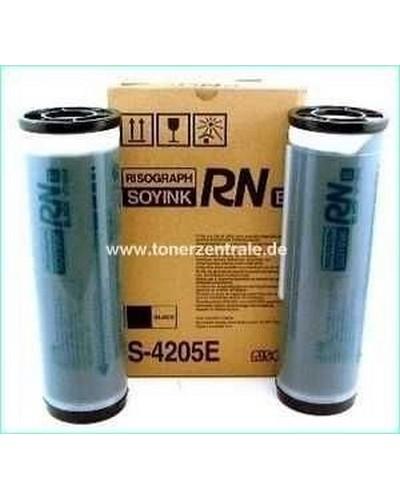 Risograph RN2xxx - Tinte S3195 S4205 - 2 x 1000ml Schwarz