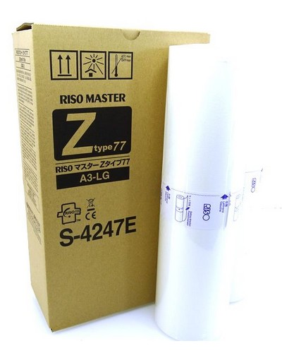 Riso RZ370 570 MZ770 - Master S4247 Typ 77 HQ - A3 (2 Rollen)
