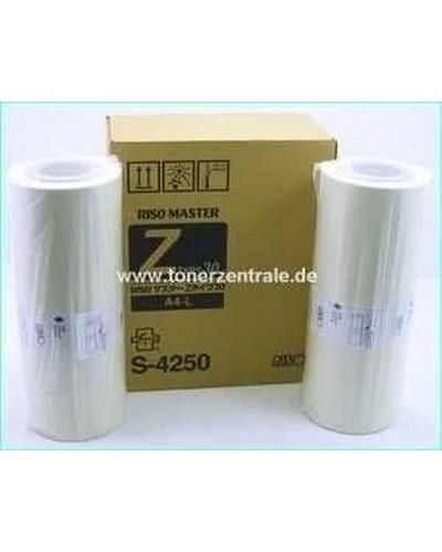 Riso Master S8188E (alt: S7611, S4250E, S6977E) A4 Doppelpack