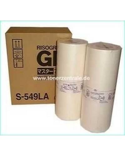 Riso GR-Serie - Master S549LA - nicht für 3750-70 - A4 2 Rollen