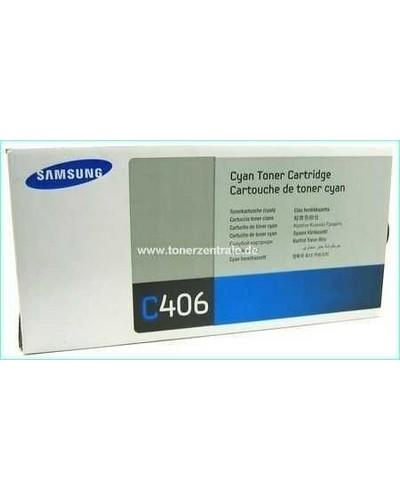 Samsung CLP-365 - Toner CLTC406S Cyan 1.000 Seiten