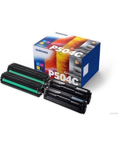 Samsung CLP415 - MultiPack CLTP504CELS - Schwarz, Cyan, Magenta, Yellow