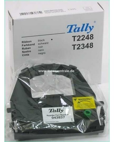Tally Genicom T-2248, 2348, LA48 - 043837 Farbband 4 Mio. Zeichen Nylon Schwarz