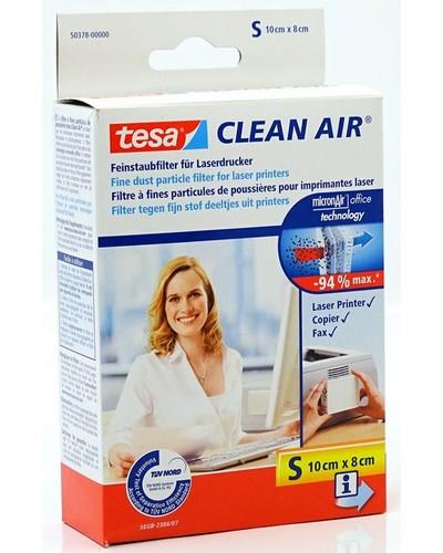 Tesa Feinstaubfilter Clean Air 50378 (Grösse-S, 10x8cm) für Laserdrucker, Fax- und Kopiergeräte
